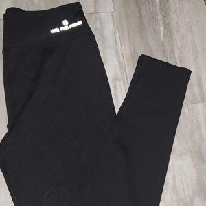 Star wars workout leggings, size large